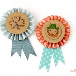 St Patrick's Day Crafts – DIY Badges