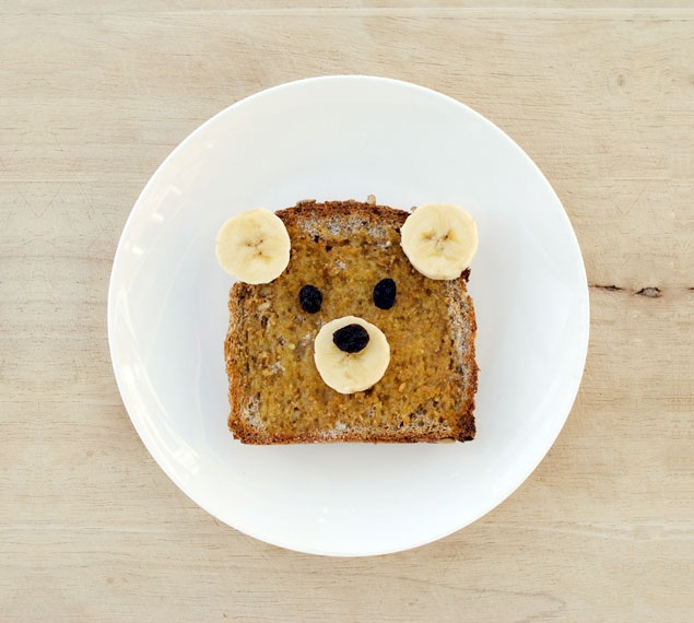 teddy bear toast top pin by Michelle McInerney of MollyMoo