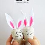 Bunny Tales – No-Muss-No-Fuss Easter Crafts