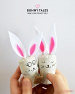 Bunny Tales – No-Muss-No-Fuss Easter Crafts