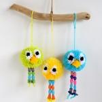 Birds of a Feather – Pom Pom Bird Craft