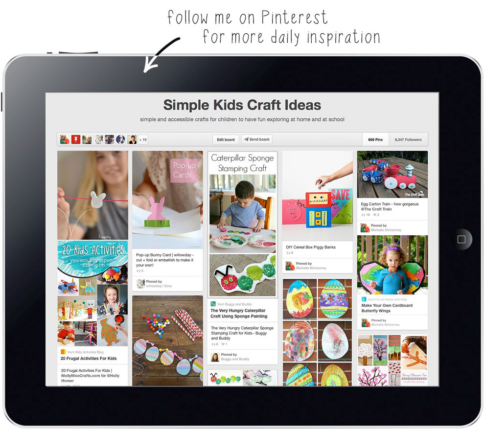 simple kids crafts on pinterest follow mollymoo