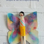 Dye Art Projects For kids + four crafts that use it