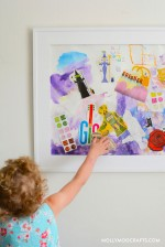 Fun Art Project For Kids: Mixed Media Collage