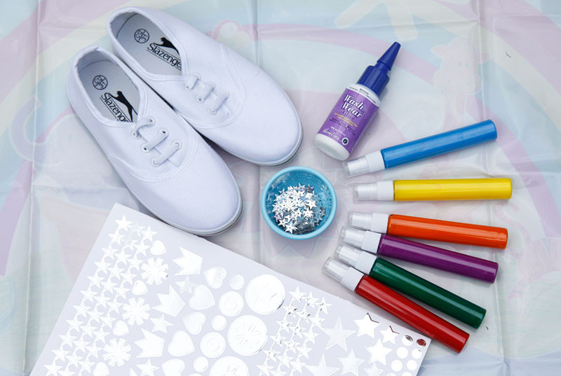 DIY Shoe Decorating