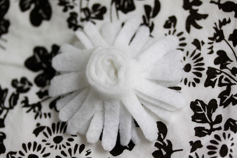 felt dairy headdress