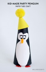 Kid-Made: Paper Tube Penguin Craft