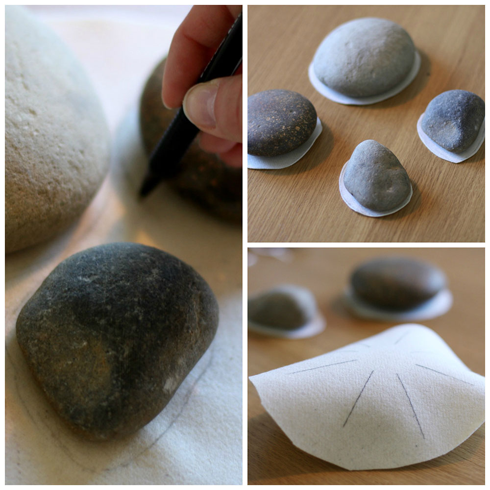 stone weaving craft tutorial
