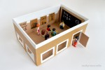 Shoebox School For Pretend Play