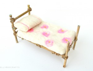 willow fairy bed craft