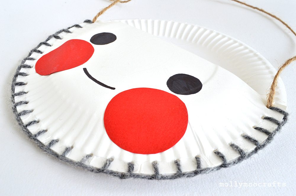 paper plate desk tidy & MollyMooCrafts Paper Plate Craft - The Cutest Desk Tidy