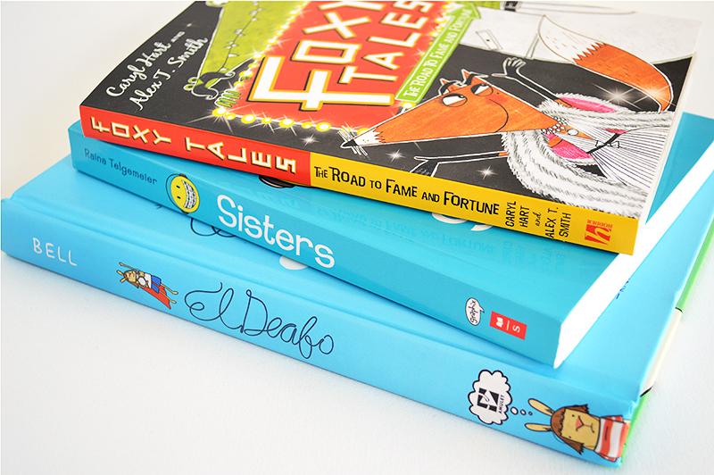 comic novels for kids