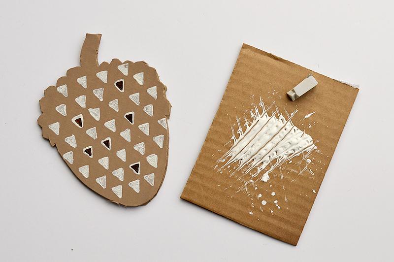 cardboard-painting-acorn