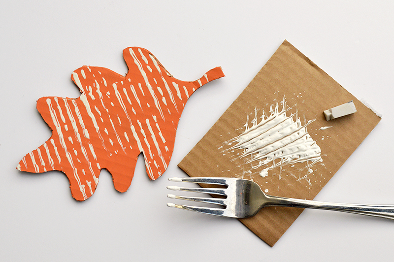 cardboard-painting-leaf