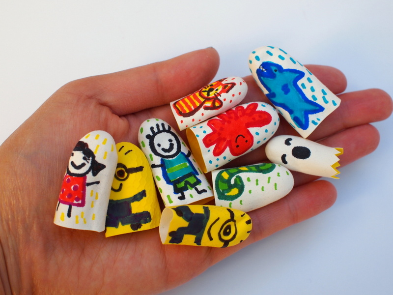DIY Finger Puppets