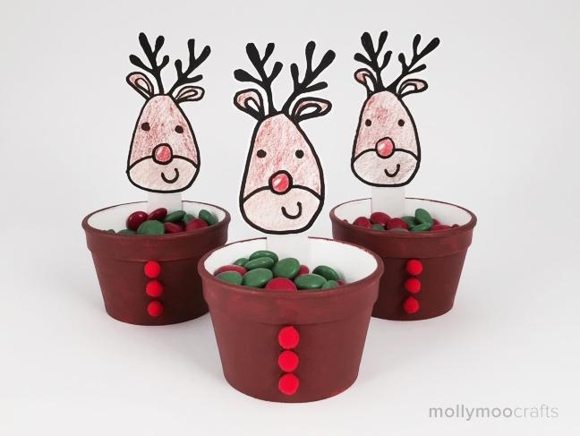 reindeer treat cups