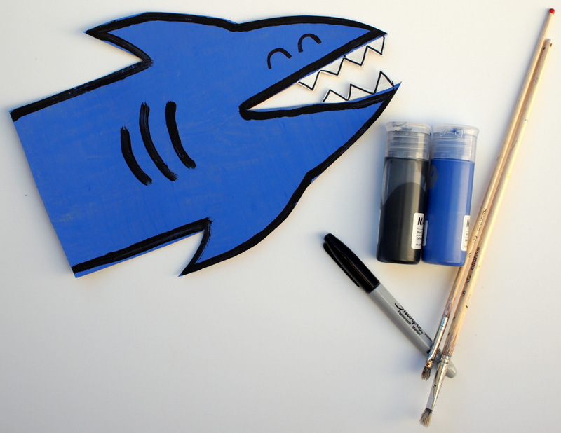 Shark Valentine Card Box
