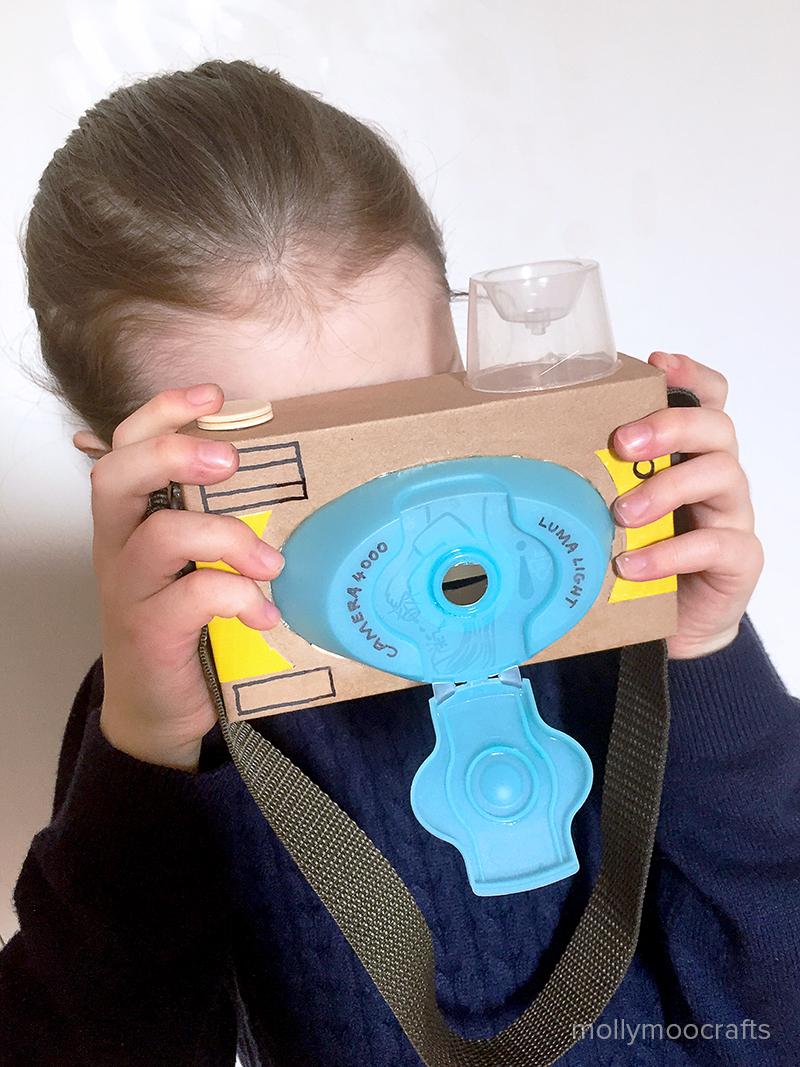 DIY Toy Cardboard Camera