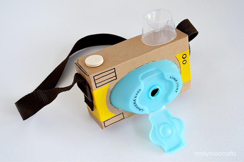 Mollymoocrafts Diy Toy Cardboard Camera