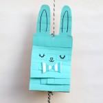 Easy Easter Bunny Craft – Paper Bag Pinata